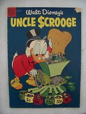 UNCLE SCROOGE #10 VG+ to VG/F      BARKS art