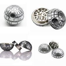 Star Wars Death Star Grinder Zinc alloy Herb Spice Crusher 3 Layers Grinder 50mm