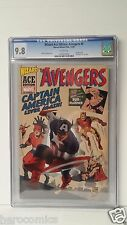 CGC 9.8 AVENGERS #4 1ST. Silver Age CAPTAIN AMERICA Wizard ACE edition