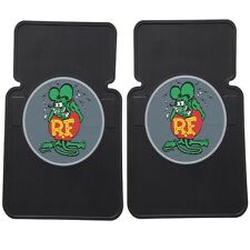 RAT FINK RUBBER FLOOR MATS MOONEYES FORD  VW HOT ROD STREET ROD