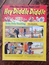HEY DIDDLE DIDDLE  COMIC . 11 NOVEMBER 1972. NO.34. VFN. LOVELY COMIC. (