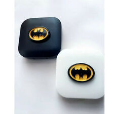 Travel Accessories Portable Batman Contact Lens Storage Case w/ Mirror #Black