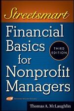 Streetsmart Financial Basics for Nonprofit Managers by McLaughlin, Thomas A.