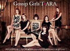 New T-ARA Gossip Girls Diamond First Limited Edition CD+DVD With Tracking