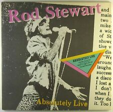 "2x12"" LP - Rod Stewart - Absolutely Live - L4912h - washed & cleaned"