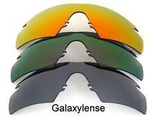 Galassia Lenti Di Ricambio Per Oakley M Frame Strike nero & viola & rosso 3 Paia