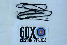 "60X Custom Strings 49"" 452x Black Oneida Strike Eagle Bowstrings Bow String"