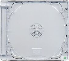 5 CD Super Jewel Box 10.4mm, 1 or 2 Disc, Super Clear Tray Replacement Case