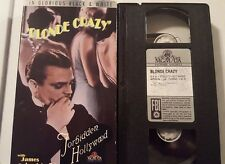 Blonde Crazy (VHS) James Cagney-Joan Blondell-Ray Milland-Forbidden Hollywood