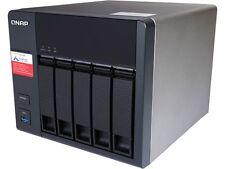 Qnap TS-531P-2G-US 5 Bay SATA 6 Gb/s NAS, Quad-core 1.4 GHz Cortex-A15 CPU, 2 GB