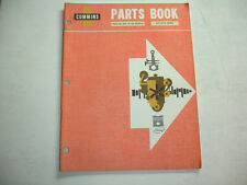 Cummins Engine PARTS BOOK Catalog List Manual V6(N)-140  V6-140 Shop Service OEM