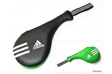 Adidas Double Target Pad Taekwondo Team GB Small Racket TKD Kickboxing Karate