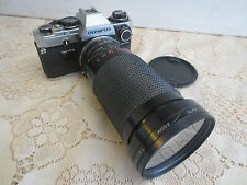 Olympus Om10 Camera With Sirius 28-200mm Lens, Manual Adapter & Soft Case