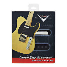 New Fender Custom Shop '51 Nocaster Tele Pickup Set of 2 Telecaster Many Gifts