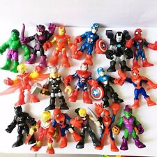 Random 5pcs 2.5'' Playskool Marvel Super Hero Adventures SPIDER-MAN Figure Toy