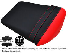DESIGN 2 BLACK & RED CUSTOM FITS YAMAHA YZF R1 1000 02-03 REAR SEAT COVER