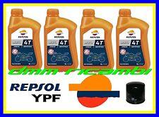 Kit Tagliando SUZUKI GSX-R 600 02 03 + Filtro Olio REPSOL 10W/40 GSXR 2002 2003