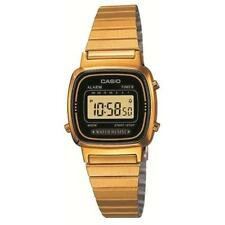 Casio Women's Digital Gold Retro Casual Sports watch LA670WGA-1 Daily Alarm