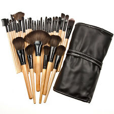 32PCS Black Beauty Make Up Brush Set Foundation Brushes Kabuki Fan Brushes VNC