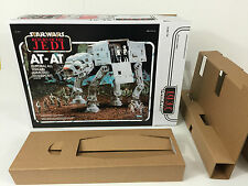Remplacement vintage star wars return of the jedi at-at boîte + inserts