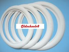 "4X17"" WHITE WALL TYRE TRIMS  NEW VW BEETLE VW VAUXHALL JAGUAR FORD CHEVY RAT ROD"