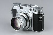 Voigtlander Prominent 35mm Rangefinder Film Camera + Nokton 50mm F/1.5 #8645E3