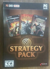 Strategy Pack (The Spartans, Seven Kingdom Conquest & The Golden Horde) PC DVD-R