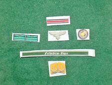 1/6 Ww2 Alemanas fallschirm Jager regimiento paracaidista insignia, Badge Y Parches