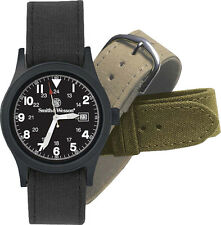 Smith & Wesson SWW1464 Black Tactical Military Watch Japanese Quartz Movement