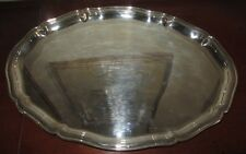 ALPACCA HOKA plateau argenté alpacca silverplated tray in good condition