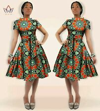 African print clothing Dress Size M -5x Women Clothing Midi Dress Dashiki