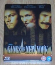 Gangs of New York - Steelbook - blu-ray. New & sealed, UK release