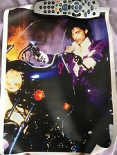 *Prince Purple Rain Poster Symbol Collectors Item Tour CD*