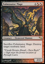 MTG FULMINATOR MAGE ENGLISH EXC - MAGO FULMINATORE - SHM - MAGIC