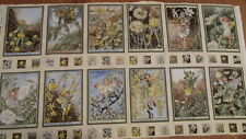 Fabric panel /frames - Sunshine Flower Fairies