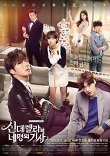 Cinderella and Four Knights O.S.T 2016 Korean TVN TV Drama OST Sealed 2 CD