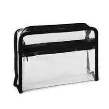 PVC Transparent Bag Clear Travel Makeup Case Cosmetic Pouch Bag (4950)