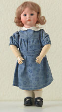 "SFBJ  252  ""Pouty"" Bébé boudeur  28 cm Poupée Ancienne Reproduction Antique Doll"