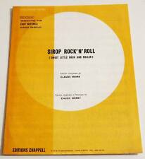Partition sheet music EDDY MITCHELL : Sirop Rock'n'Roll * 70's Chuck Berry