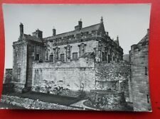 POSTCARD RP STIRLINGSHIRE STIRLING CASTLE THE PALACE BLOCK