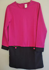 New With Tags * Gymboree Merry and Bright Color Block Dress ~  Size 7 Year ~