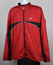 MENS XXL THE NORTH FACE LIGHTWEIGHT WINDBREAKER Red JACKET STOW POCKET F32a