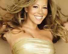 Mariah Carey Gold 10x8 Photo