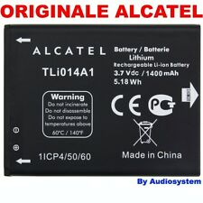 BATTERIA 1400Mah ORIGINALE PER ALCATEL ONE TOUCH OT S'POP 4030D 4030 tli014a1