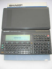 SHARP PC-E500 Pocket Computer, BASIC Calculator, Taschenrechner #140