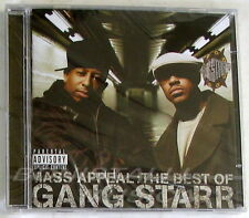 GANG STARR - MASS APPEAL: THE BEST OF - CD + DVD Sigillato Bonus Tracks