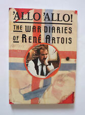 'ALLO 'ALLO THE WAR DIARIES OF RENE ARTOIS - 1988 HARDBACK - VERY GOOD CONDITION