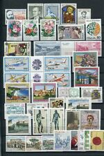 ITALY 1981 MNH COMPLETE YEAR 40 Stamps