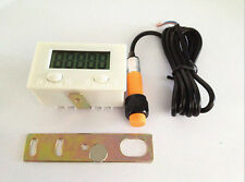 Digital 5 Digit LCD Punch Counter +proximity switch + strong magnetic+support