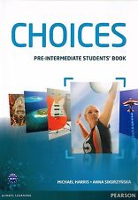 Pearson CHOICES Pre-Intermediate STUDENTS BOOK Coursebook Level A2-B1 @BRAND NEW